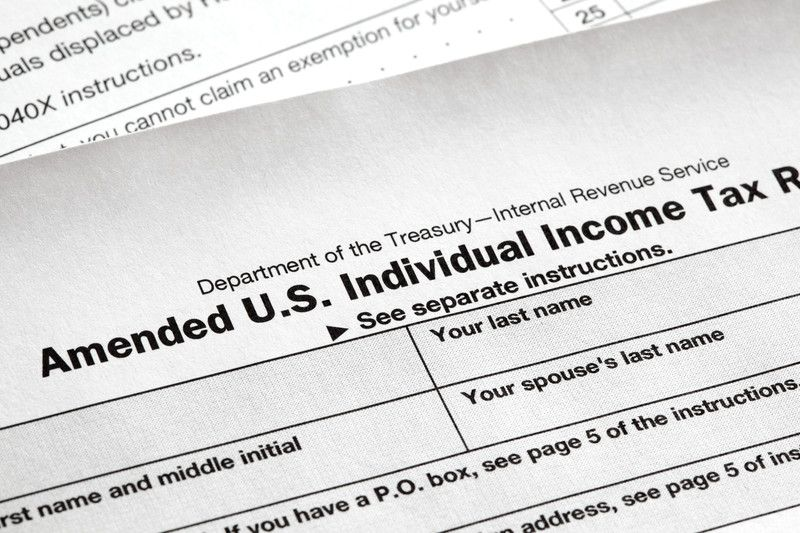 Ammended Income Tax Return